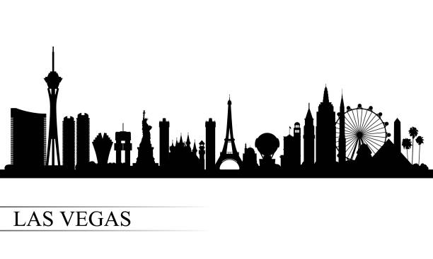 Best Las Vegas Illustrations, Royalty.