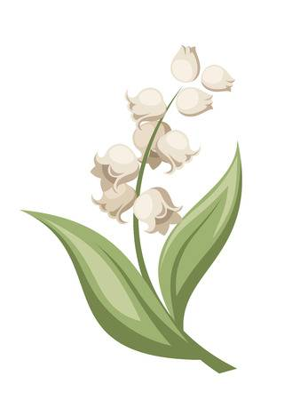 2,032 Lily Of The Valley Cliparts, Stock Vector And Royalty Free.