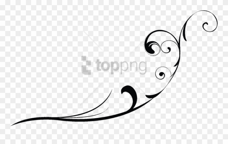 Free Png Swirl Line Design Png Png Image With Transparent.