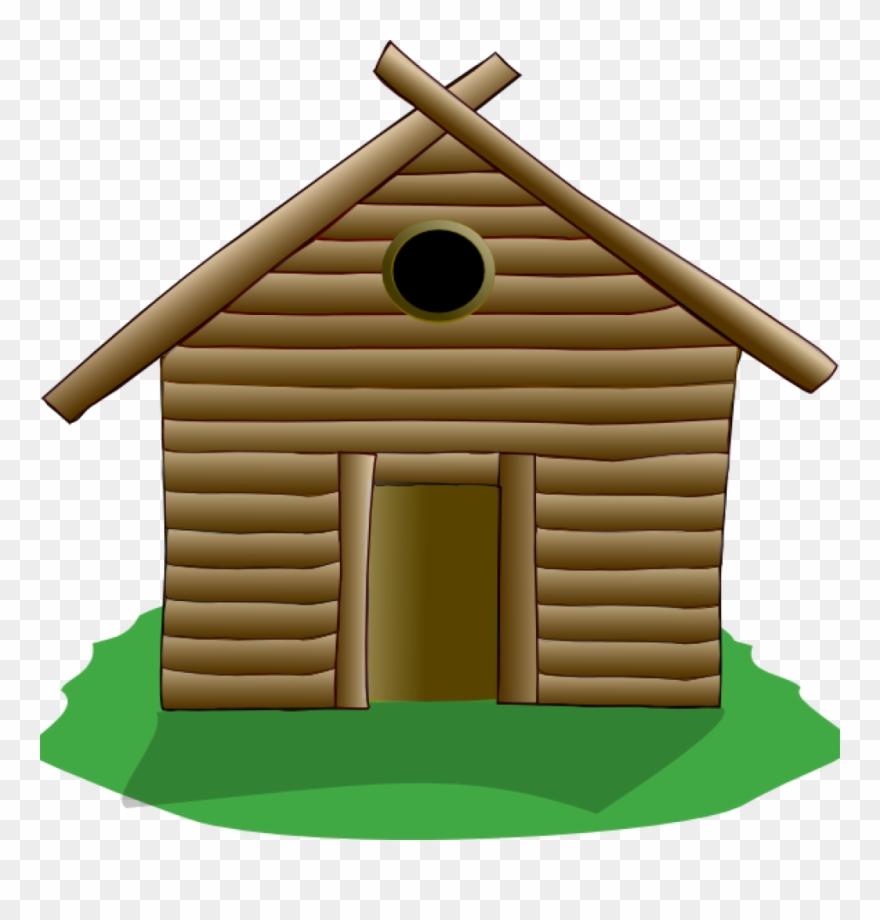 Clip Art Log Cabin Log Cabin Clip Art At Clker Vector.