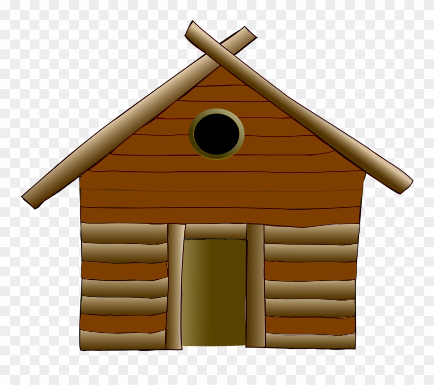 Log Cabin Cottage House Wood Png Image Clipart (#2469641).