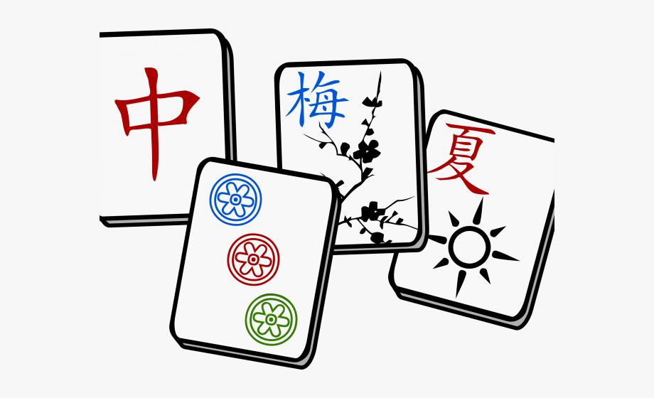 Tiles Clipart Mahjong.