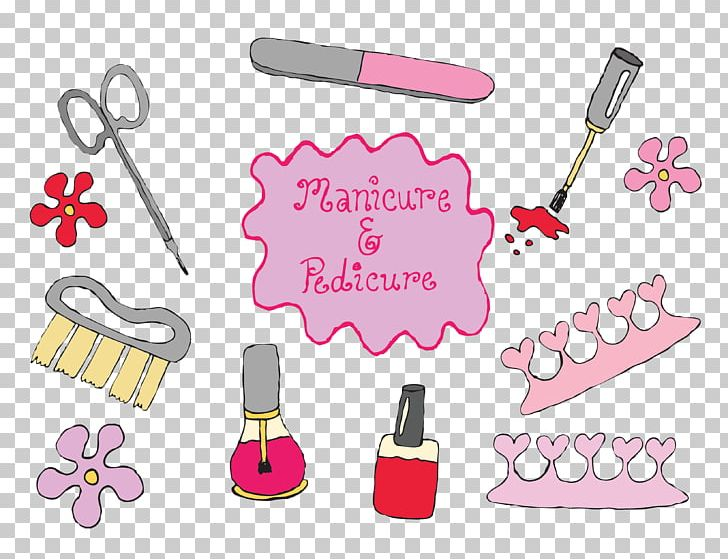 Manicure Pedicure Nail Polish Cosmetics PNG, Clipart, Beautiful.
