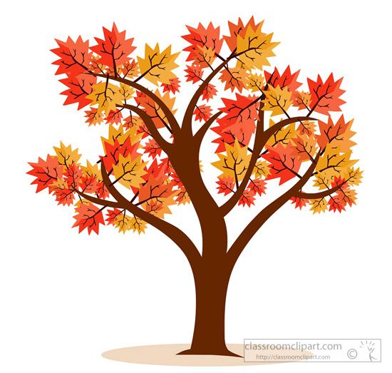 fall tree Seasonal clipart maple tree fall foliage jpg.