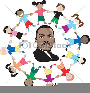Martin Luther King Free Clipart.