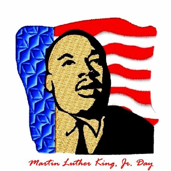 Martin Luther King Day Clip Art.