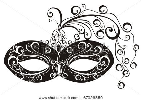 Free download Masquerade Masks Free Clipart for your creation.