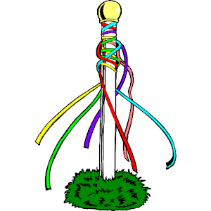 Maypole 1 clipart, cliparts of Maypole 1 free download (wmf, eps.