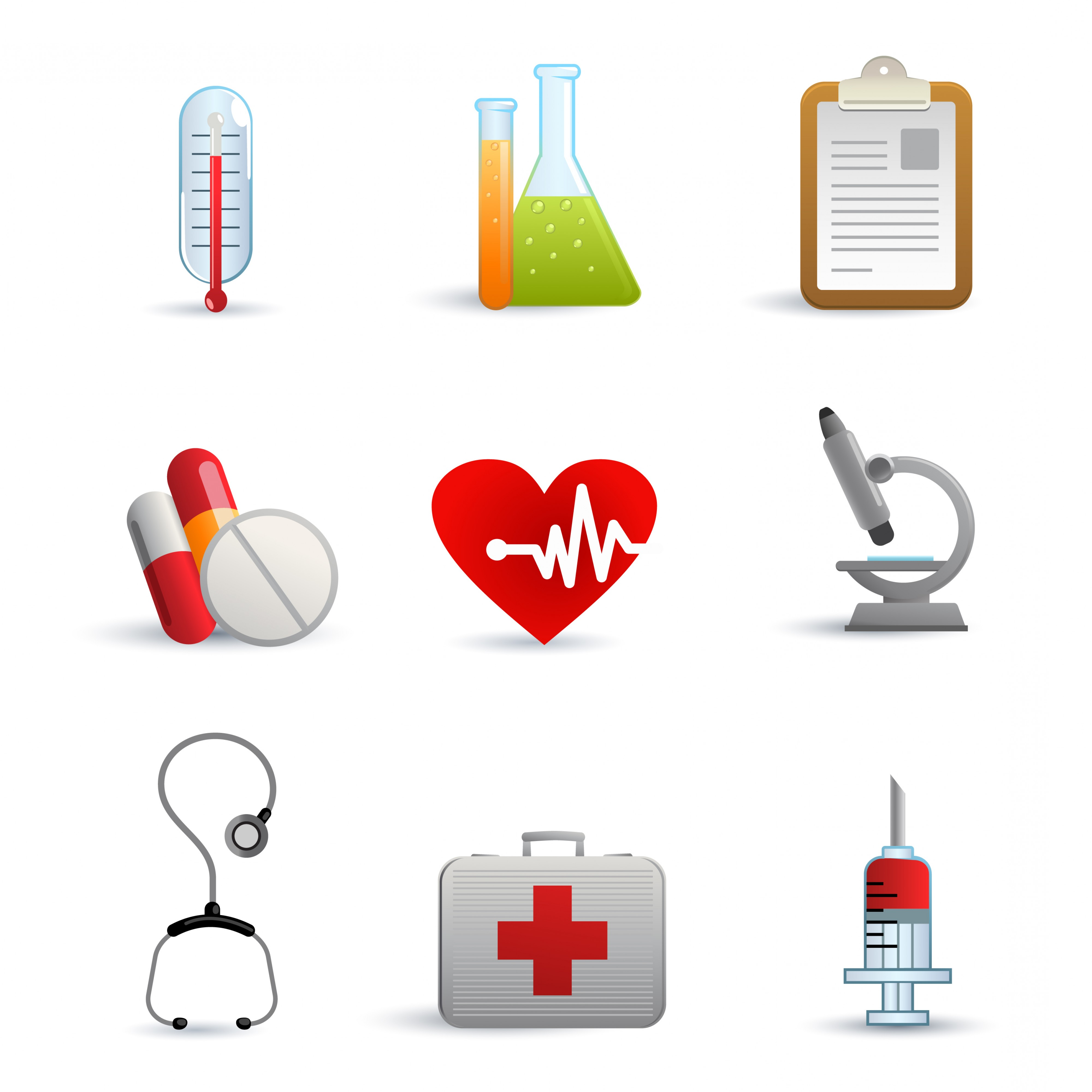 Free Clipart Vector Images Medical Equipment.