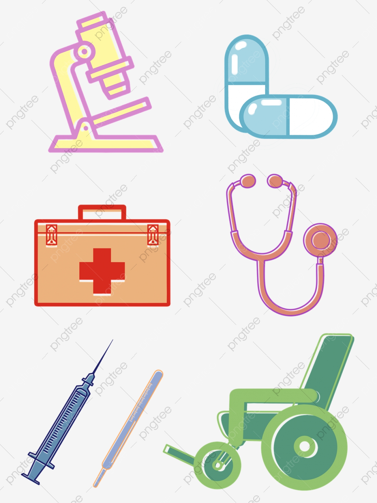 Medical Equipment, Medical Clipart, Medical Instruments PNG.