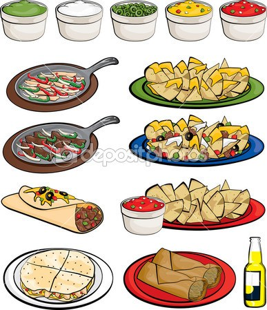 Free clipart mexican food 1 » Clipart Portal.
