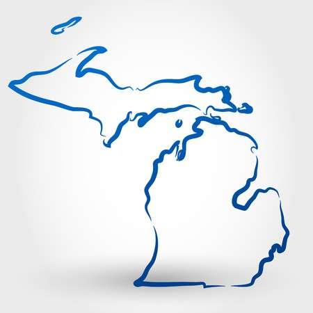 3,634 Michigan Cliparts, Stock Vector And Royalty Free Michigan.