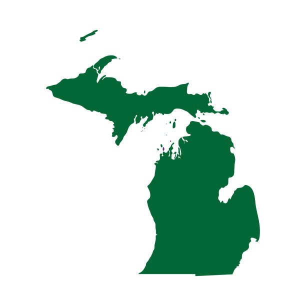 Best Michigan Illustrations, Royalty.