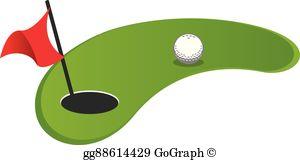 Mini Golf Clip Art.