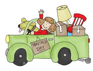 Free Dearie Dolls Digi Stamps: Moving Day.