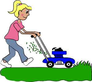 Mowing Clipart Yard.