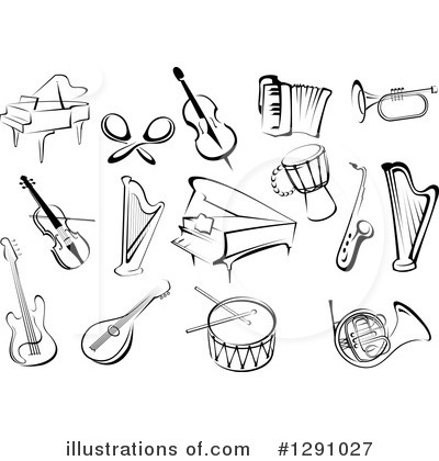 Musical Instrument Clipart #1291027.