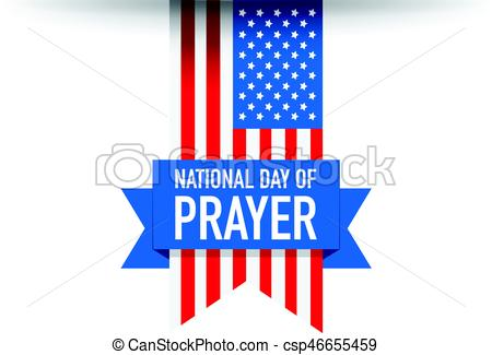 National day of pray use flag.