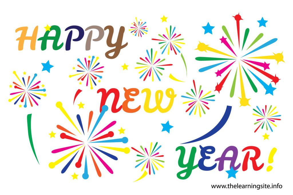 Happy New Year ClipArt Free For 2015.