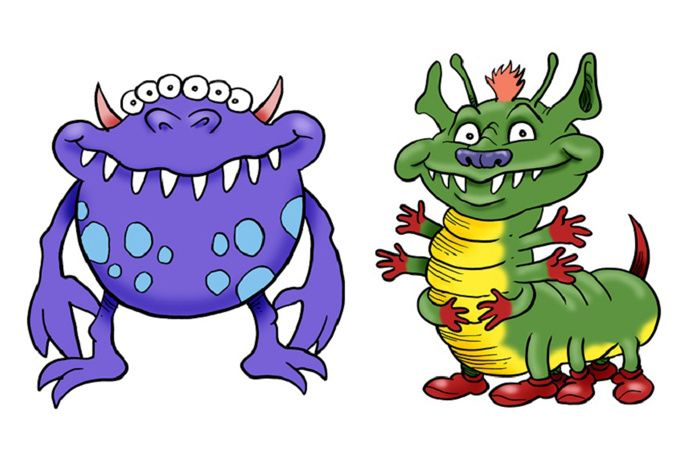 Monster clip art cartoon free clipart images 4 wikiclipart.