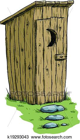 Outhouse Clipart.