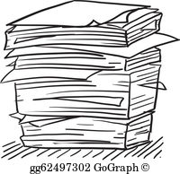 Paperwork Clip Art.