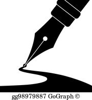 Pen And Ink Clip Art.