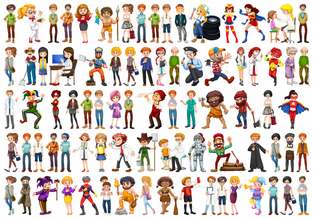 People Clipart Vectors, Photos and PSD files.