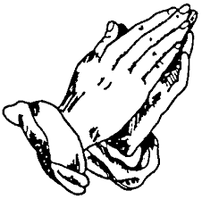 Image result for free silhouette clip art praying hands.