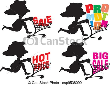 Vector Clipart of promotion.