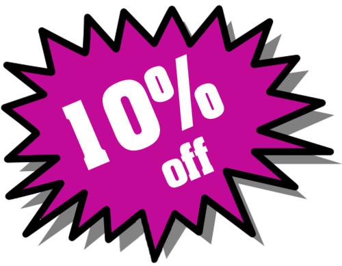 Purple sale promotion clipart.