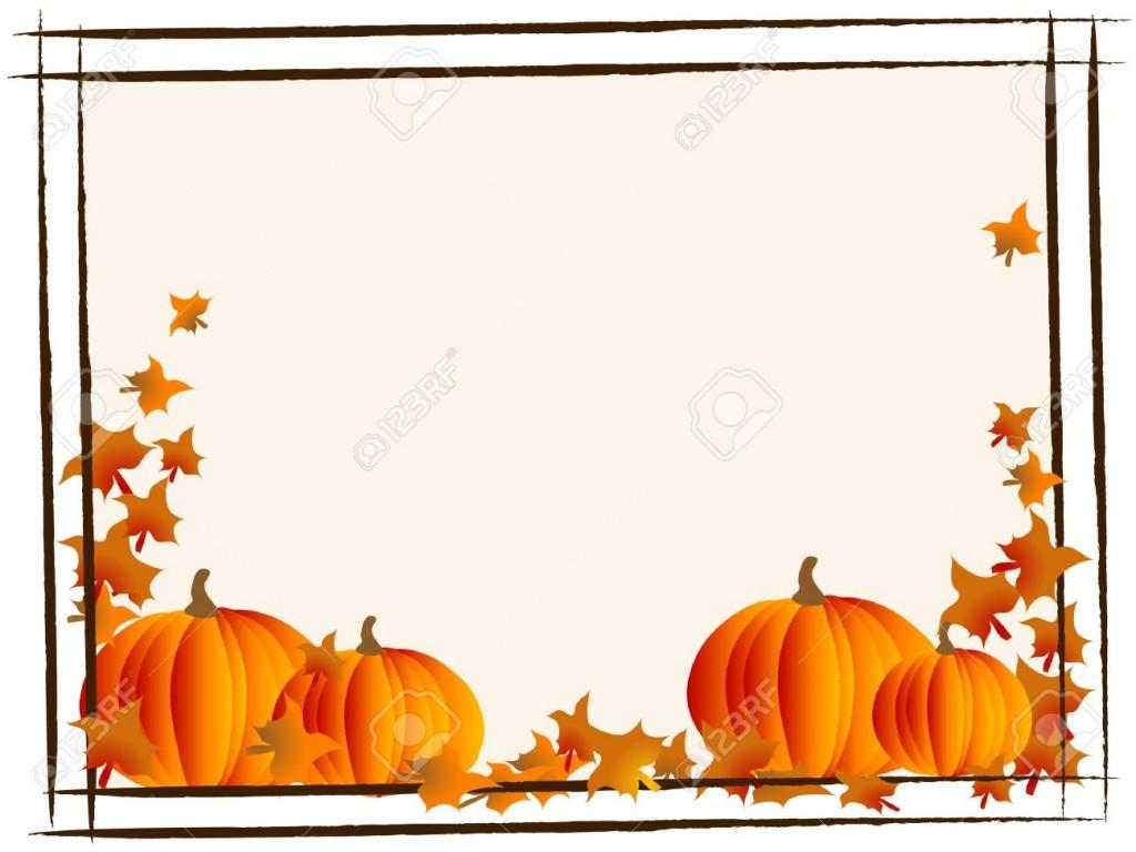 Free Clip Art Pumpkin Border.