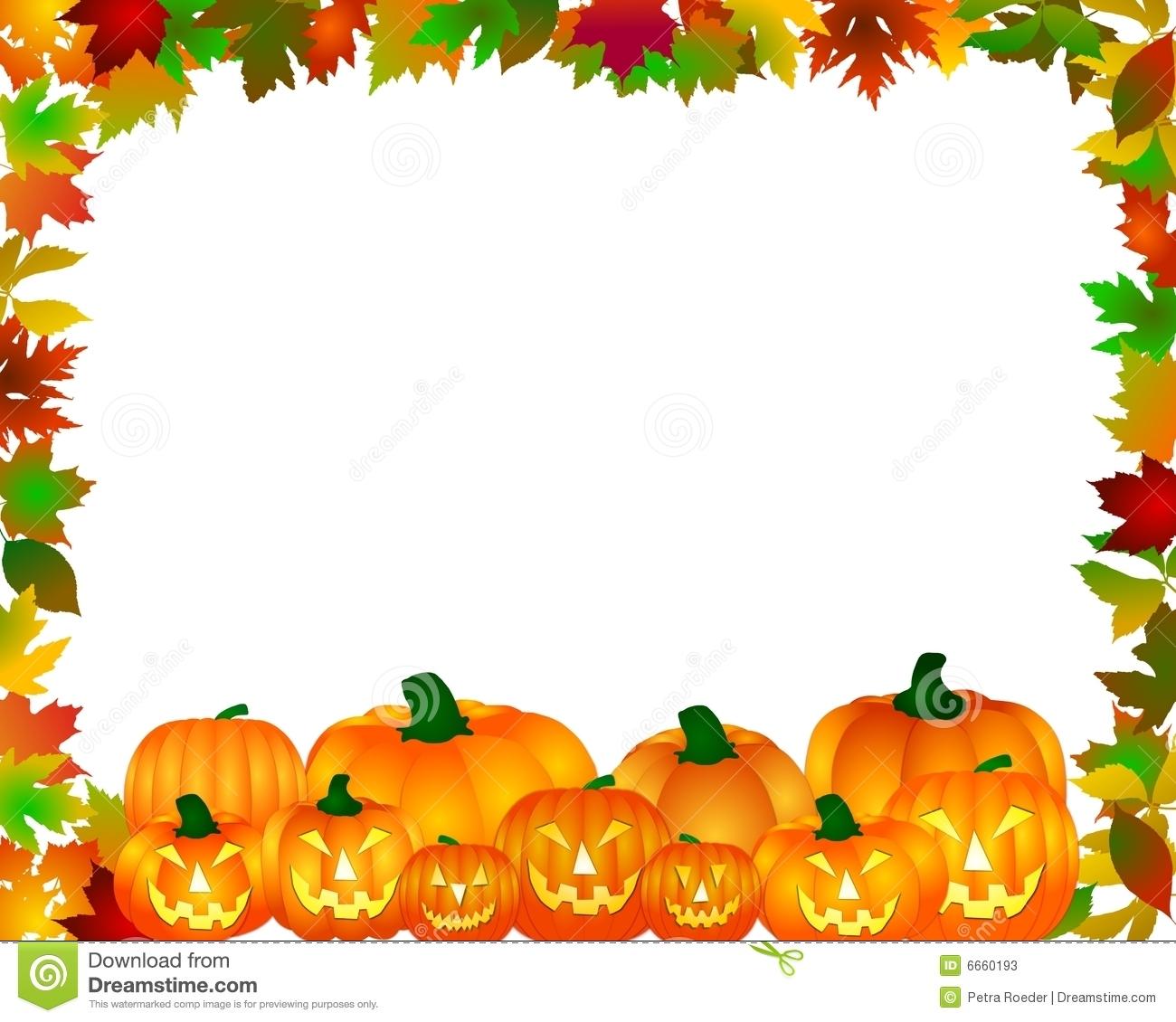 free clip art pumpkin border