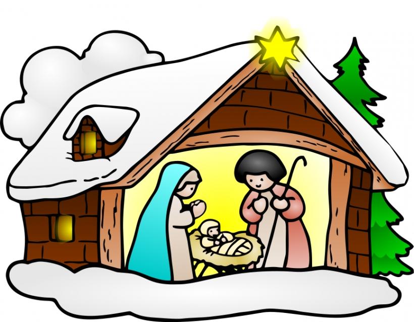 Christmas Religious Clip Art Free & Christmas Religious Clip Art.