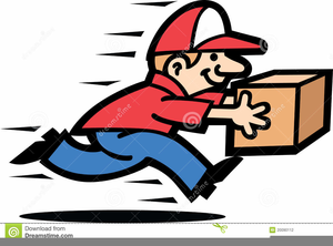 Free Clipart Courier Service.