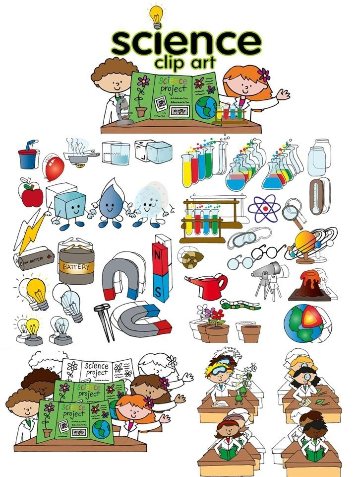 Science Clipart Free & Science Clip Art Images.