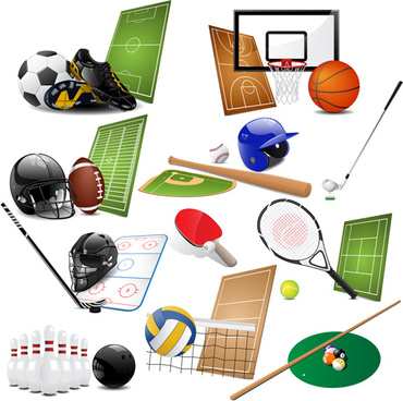 Sports equipment clip art free vector download (220,822 Free vector.