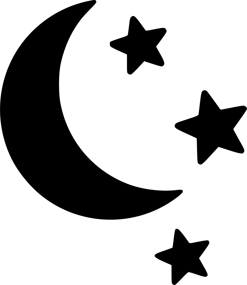free clipart moon and stars #112.