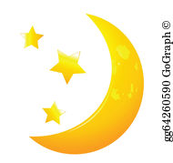Moon Stars Clip Art.