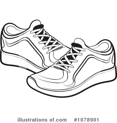 Free clipart tennis shoes 1 » Clipart Station.