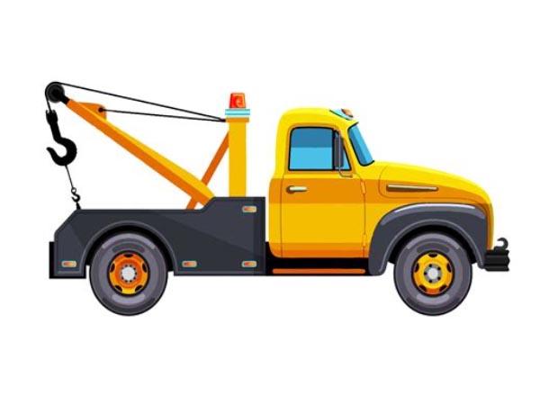 Tow Truck Clip Art Cartoon Pictures.