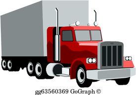 Tractor Trailer Clip Art.