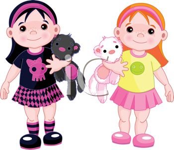 Twin Girls Showing Diversity in their Styles.