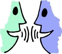 Two People Talking Clip Art Free images at pixy.org.
