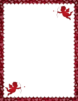 Free Valentine's Day Borders: Clip Art, Page Borders, and Vector.