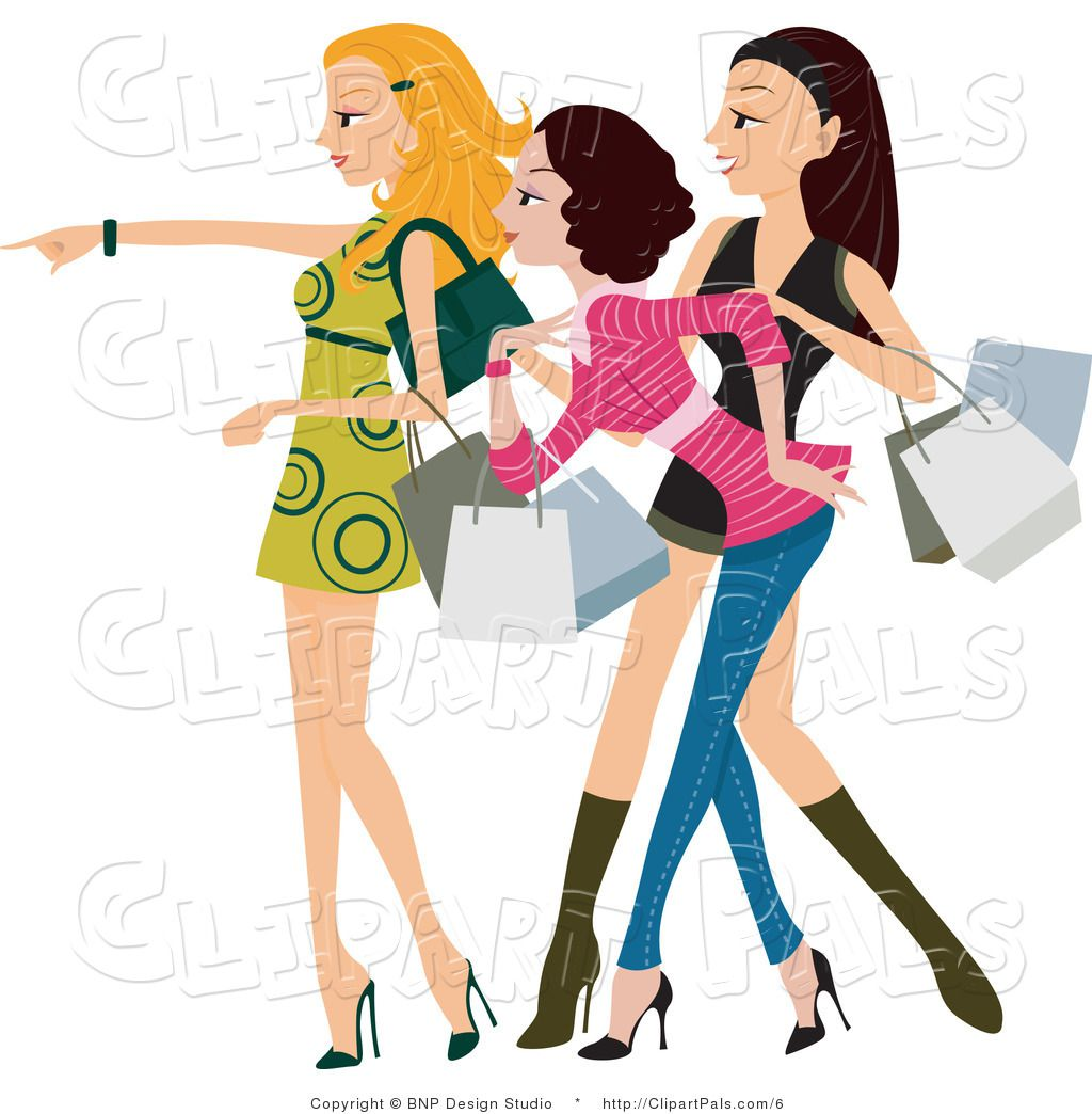 Free clip art of women.