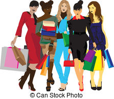 Woman shopping Illustrations and Clip Art. 23,869 Woman shopping.