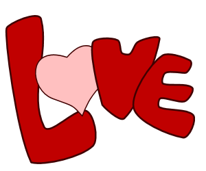 More free transparent png graphics and clip art of the word love.