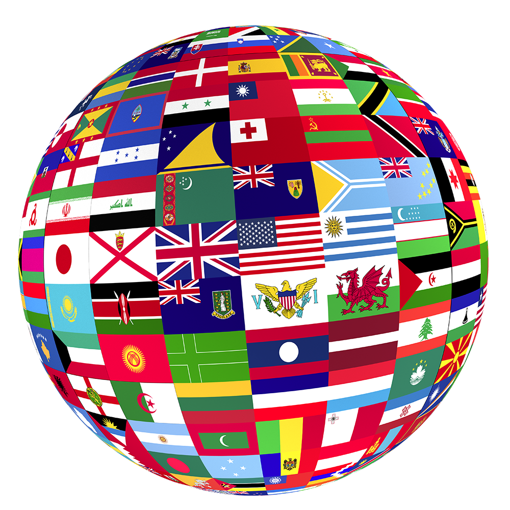 Globe with flags clipart images gallery for free download.
