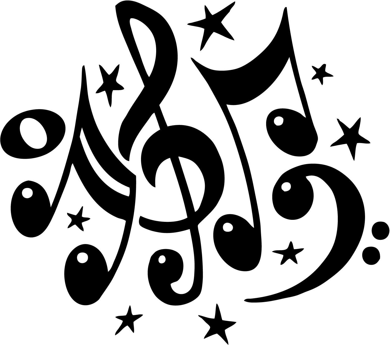 Free Band Music Clipart.
